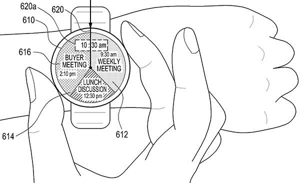 Il brevetto di Samsung per un nuovo smartwatch, da controllare mediante un anello girevole posizionato intorno al display circolare