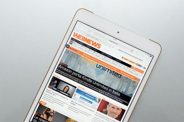 Webnews su iPad Mini 3
