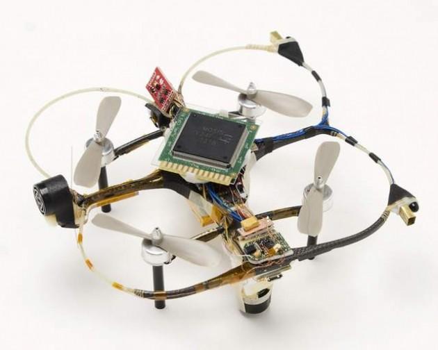 Drone con chip neuromorfico