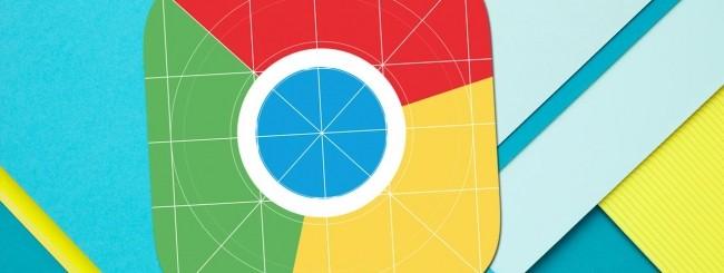 Chrome, Material Design