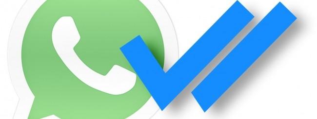WhatsApp: la doppia spunta blu