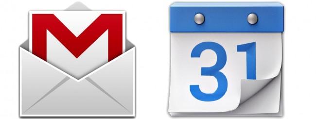 Gmail, Calendar
