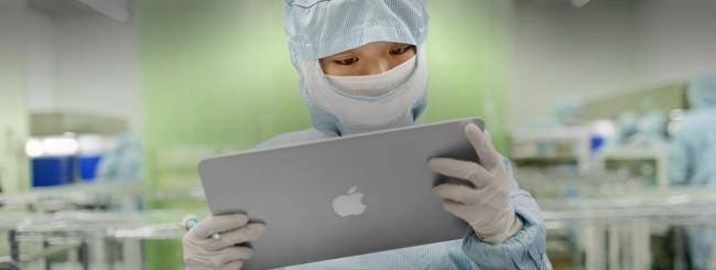 Lavoratore cinese, Apple