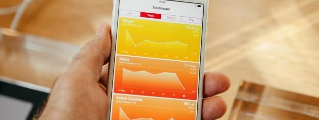 Monitoraggio della salute, iPhone