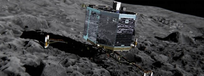 Philae sulla cometa