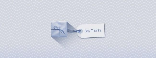 Say Thanks su Facebook