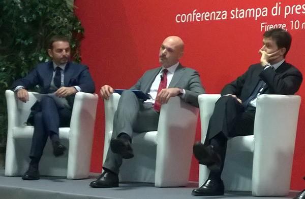Il sindaco Dario Nardella alla conferenza stampa di presentazione per l'arrivo di enjoy a Firenze