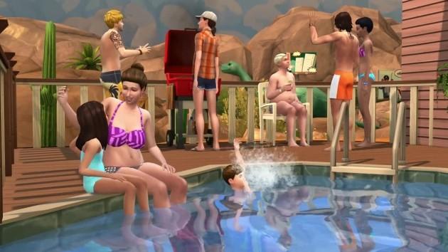 The sims 4 arrivano le piscine webnews for Sims 4 piscine a debordement