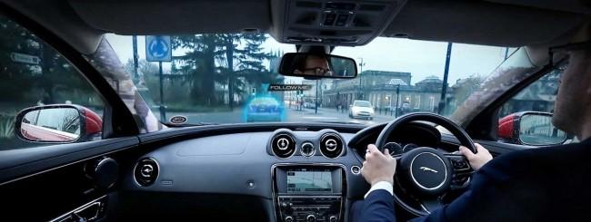 Jaguar Virtual Urban Windscreen