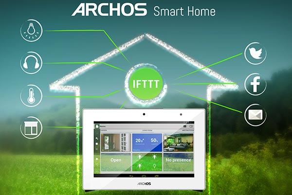 Il sistema Archos Smart Home e la domotica