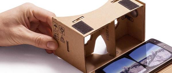 Google Cardboard, il visore per la realtà aumentata fatto di cartone