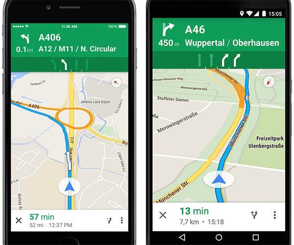 Google Maps fornisce le indicazioni di corsia sulle autostrade italiane