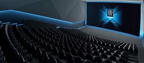 Un concept per le sale equipaggiate con la tecnologia Dolby Cinema