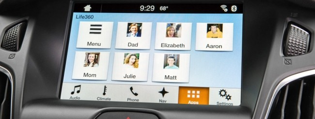 Ford SYNC AppLink Life360