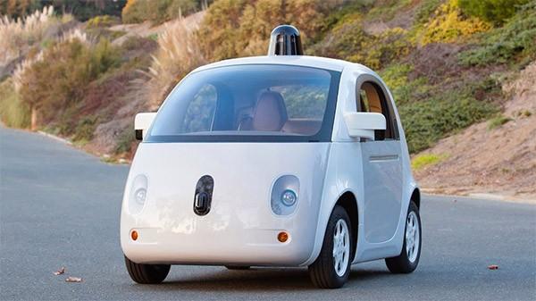Il prototipo completo della Google self-driving car