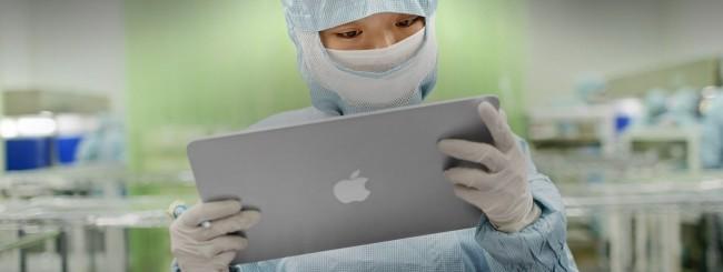 Lavoratore cinese in Apple