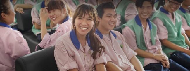Lavoratori asiatici di Apple