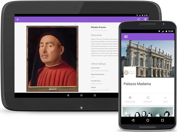 L'applicazione Android dedicata al museo di Palazzo Madama a Torino