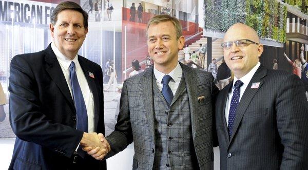 Carlo Purassanta sigla la partnership ufficiale con lo USA Pavilion per Expo 2015