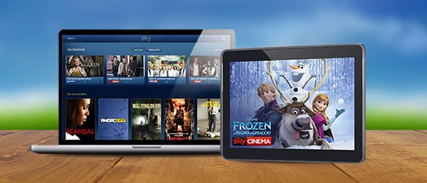 SKY Go, dispositivi
