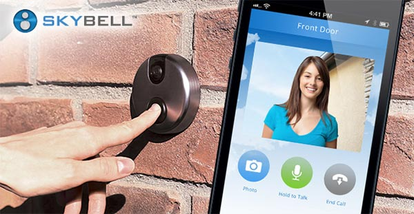 SkyBell, il campanello intelligente per la smart home