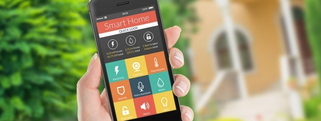 Smart home, iPhone