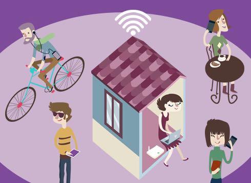 Tiscali Social WiFi