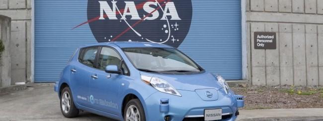 Nissan e NASA