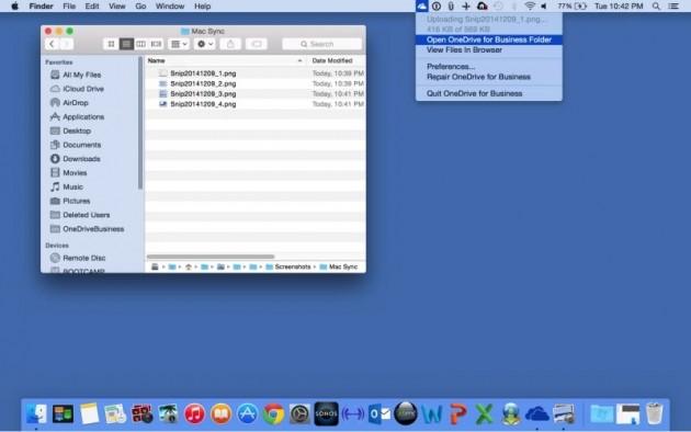 OneDrive per Mac