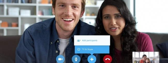 Skype per Samsung Smart TV