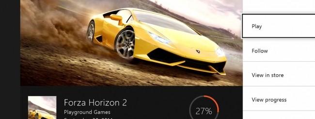 Xbox One - Game Hub