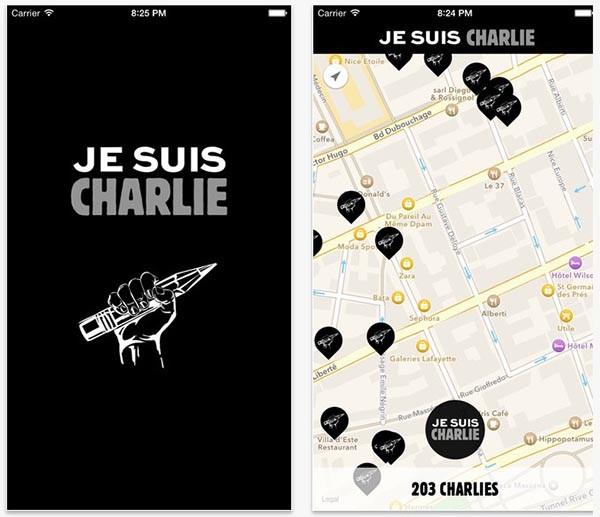 App Je Suis Charlie