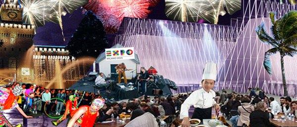 Immagine di copertina sul sito ufficiale Expo 2015