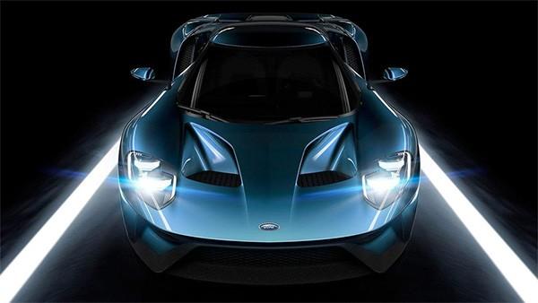 La supercar Ford GT è l'automobile scelta per l'annuncio di Forza Motorsport 6