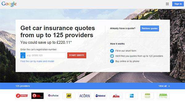 Google Compare, il servizio di bigG dedicato alla comparazione delle assicurazioni auto, è al momento attivo solo negli USA