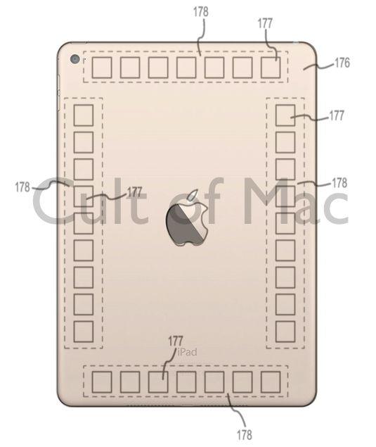 iPad, controlli posteriori