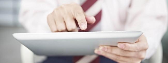Interazione con iPad
