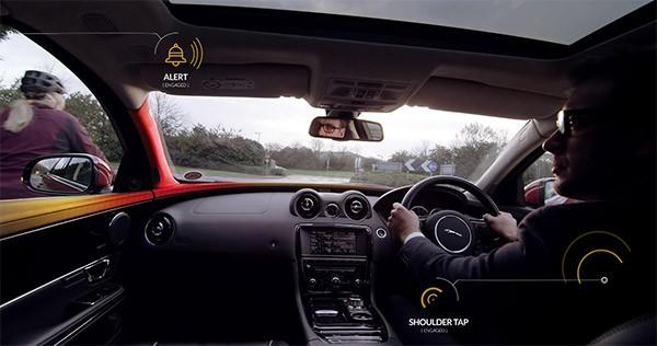 La tecnologia Bike Sense sviluppata da Jaguar Land Rover