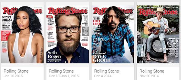 Gli ultimi numeri di Rolling Store pubblicati su Google Play Edicola