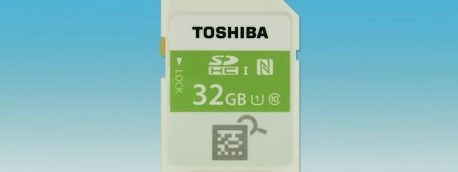 CES 2015: Toshiba presenta la prima SD con NFC