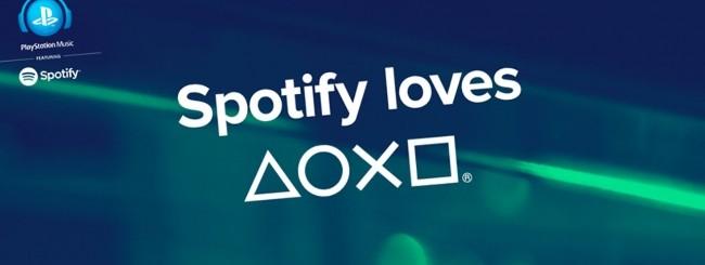Spotify su Playstation