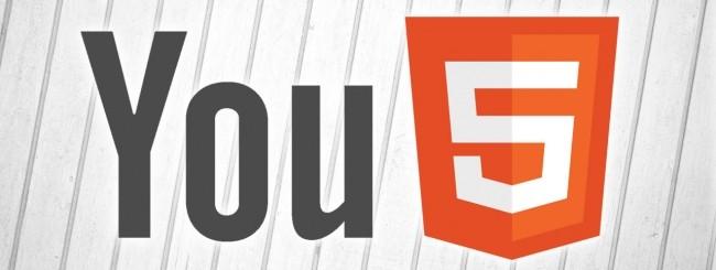 YouTube, HTML5