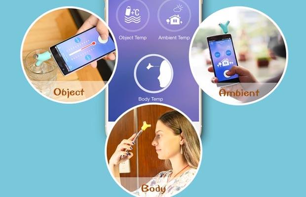 Wishbone, il termometro digitale da usare con lo smartphone