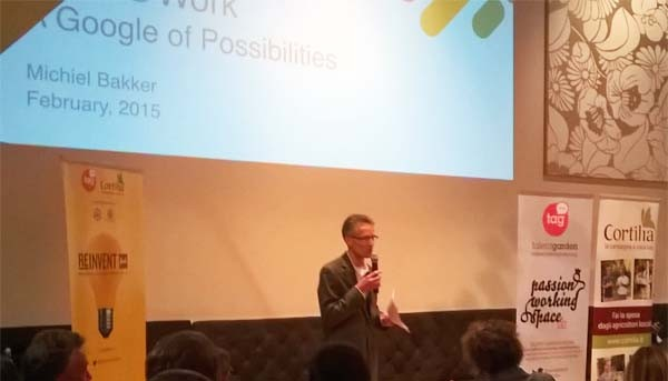 """Michiel Bakker, direttore di Google Food, è ospite di TAG in questi giorni per un tour intitolato """"Reinvent Food""""."""