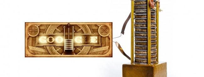 Doodle per Alessandro Volta