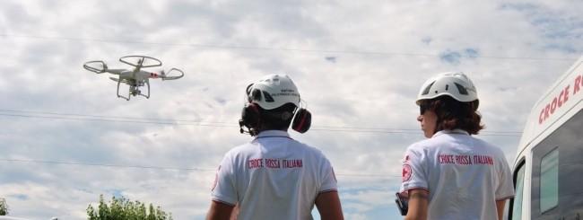 La Croce Rossa italiana punta sui droni