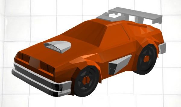 L'editor online per disegnare le macchinine di 3D Racers