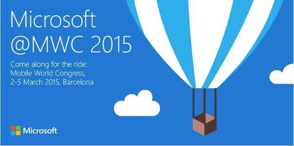 Invito Microsoft al Mobile World Congress 2015