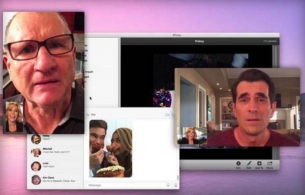 Modern Family e Apple