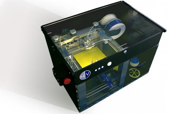 NVPRO, la stampante 3D di NVBOTS